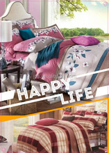 Colorful printed bedding sets & bed sheets & bed covers