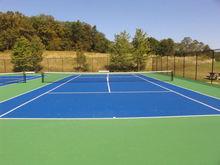 8mm tennis court outdoor PU sports flooring
