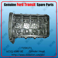 Genuine Transit V348 spare parts 6C1Q 6049 BE Cylinder Head Finish: T154171