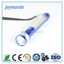 Antiskid design emergency Aluminum Flashlight LED torch Light