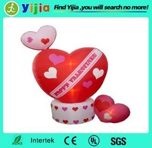 Led lighting Valentine's Day inflatable heart