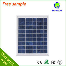 Photovoltaic solar energy component Poly 50w solar panels in Guangzhou