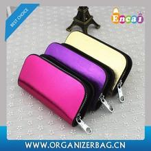 Encai Bright Leather Car Key Holder Fashion Car Key Case For Ladies