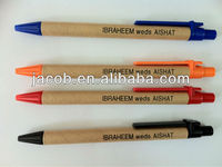 hot selling Eco-friendly paper roll pen promotional paper pen 1000pcs with free shipping