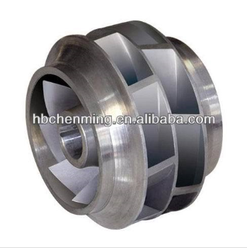 stainless steel impeller used for double suction centrifugal pump