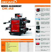 Car workshop used wheel alignment with 8 beam CCD