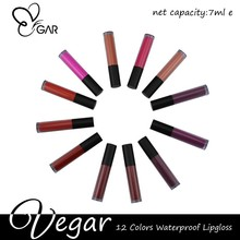 customized colors crate your brand Matte liquid lipgloss