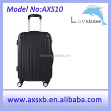 2015 fashionable black trolley case travel luggage and bags cool laptop luggage trolley