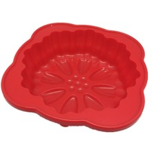 Round Flower Cake Baking Silicone Mold Cake Decorating Dessert Pan Halloween Pumpkin Cake Pan