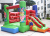 circus mini bouncer inflatable bouncer slide for kids