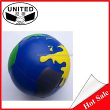 wholesale earth model PU ball PU anti-stress ball