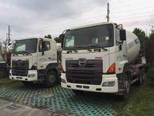 Utilizado HINO conceret mezclador para la venta, HINO camión volquete 700 para la venta