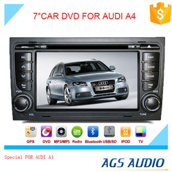 car audio video entertainment navigation system with gps for AUDI A4
