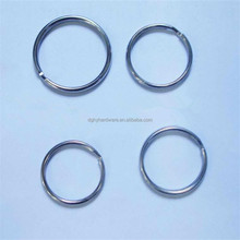 High quality 25mm standard metal split key rings,metal split ring,split key ring,keyring