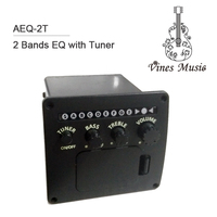 New 2 Band Tuner Function acoustic guitar EQ/Pickup/Equalizer