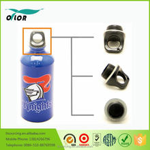 Wholesale good price best quality aluminum blue water sports bottle with a fish logo