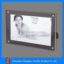 New design pop acrylic sex digital photo frame video free dow
