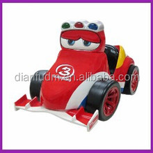 DF-66 2015 best price red racing kiddy rides car arcade coin operated kiddy rides game machine