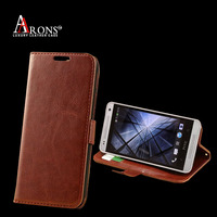 Good quality genuine sheep leather phone case for htc