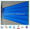 Corrugated color coated steel roofing sheet building material tile