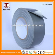 Multicolor duct cloth tape with strong adhesion and high tensile strength