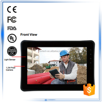 """10.1"""" oem ARM-based 1.0GHz Dual Core Processor waterproof dustproof Wifi 3G Bluetooth android industrial grade panel tablet pc"""
