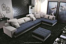 Best popular reclining corner seat sofa with cushion