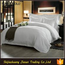 Elegante colchas blancas para 5 estrellas de hotel