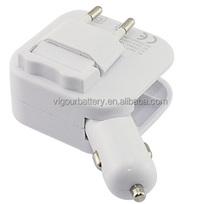 EU / US plug, Car/Home, Dual-smart USB Charger