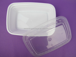 cute design plastic food storage packaging box for Girls and Ladies