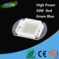 7 Years Warrantee Ultra Bright High Quality Red Green Blue High Power 50W LED Chip Light