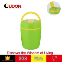 1.2L sealable plastic food container keep warm