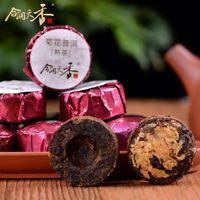 special chrysanthemum flaovred pu'er diet tea