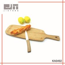 china good quality oak wooden bread board cutting board