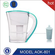 with pH and ORP FDA certificate fit for fridge door crack alkaline drink water jug