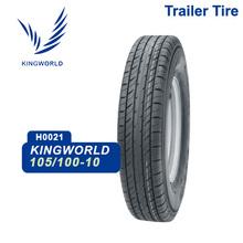 105/100-10 heavy duty trailer tire