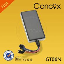 Concox popular gps tracker with engine shut off GT06N