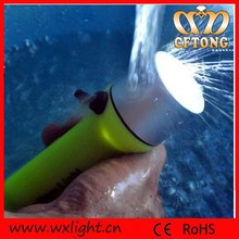 AAA Battery Operated Rotary Switch Waterproof Torch