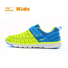 ERKE 2015 new kid shoes kids sneaker for boy kid running shoes velcro closure kid shoes kid sports 31-37 Available/Wholesale/OEM