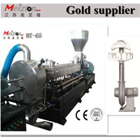 New condition New Condition WPC floor profile production line/plastic wood deck profile extruder/ wood plastic machine
