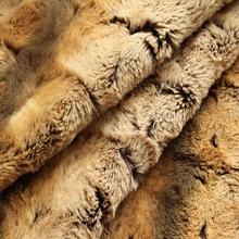 retro mattress knitted pv plush fabric