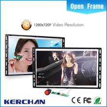 10.1 inch open frame replace LCD video screen for promotions/retail display video screens for instore
