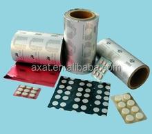 Aluminum foil packaging printing alu alu pharmceutical blister packaging