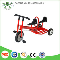 New Design Factory Price Two seats kids trike for children