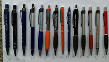Personalized Metal Ball Point Pen with soft rubber grip for Advertising