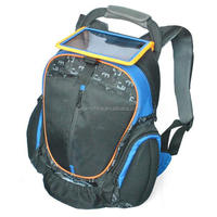 solar travel bag waterproof solar backpack outdoor mountaineering climbing backpack