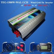 Wind dump load 3 phase grid tie inverter inverter 1500w wind power turbine, invertor on grid for wind