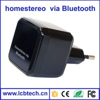 New arrival Bluetooth 4.0 Audio Music Receiver 3.5mm Adapter With USB Wall Charger