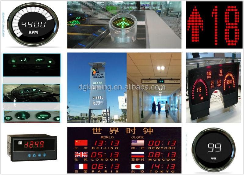 11x7 dot matrix led display