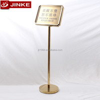 ZS-031A Titanium Mirror Polished Poster Display Board